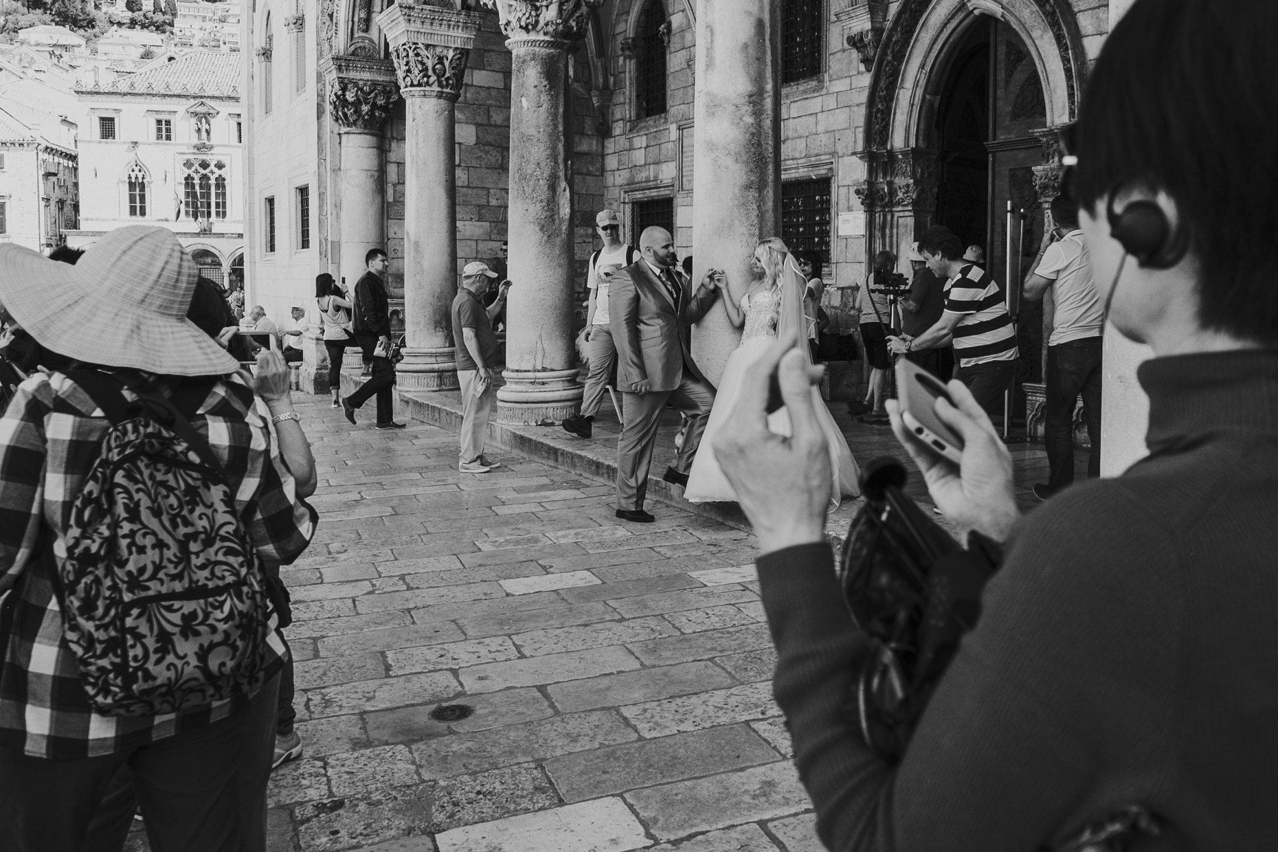 wedding day, dubrovnik