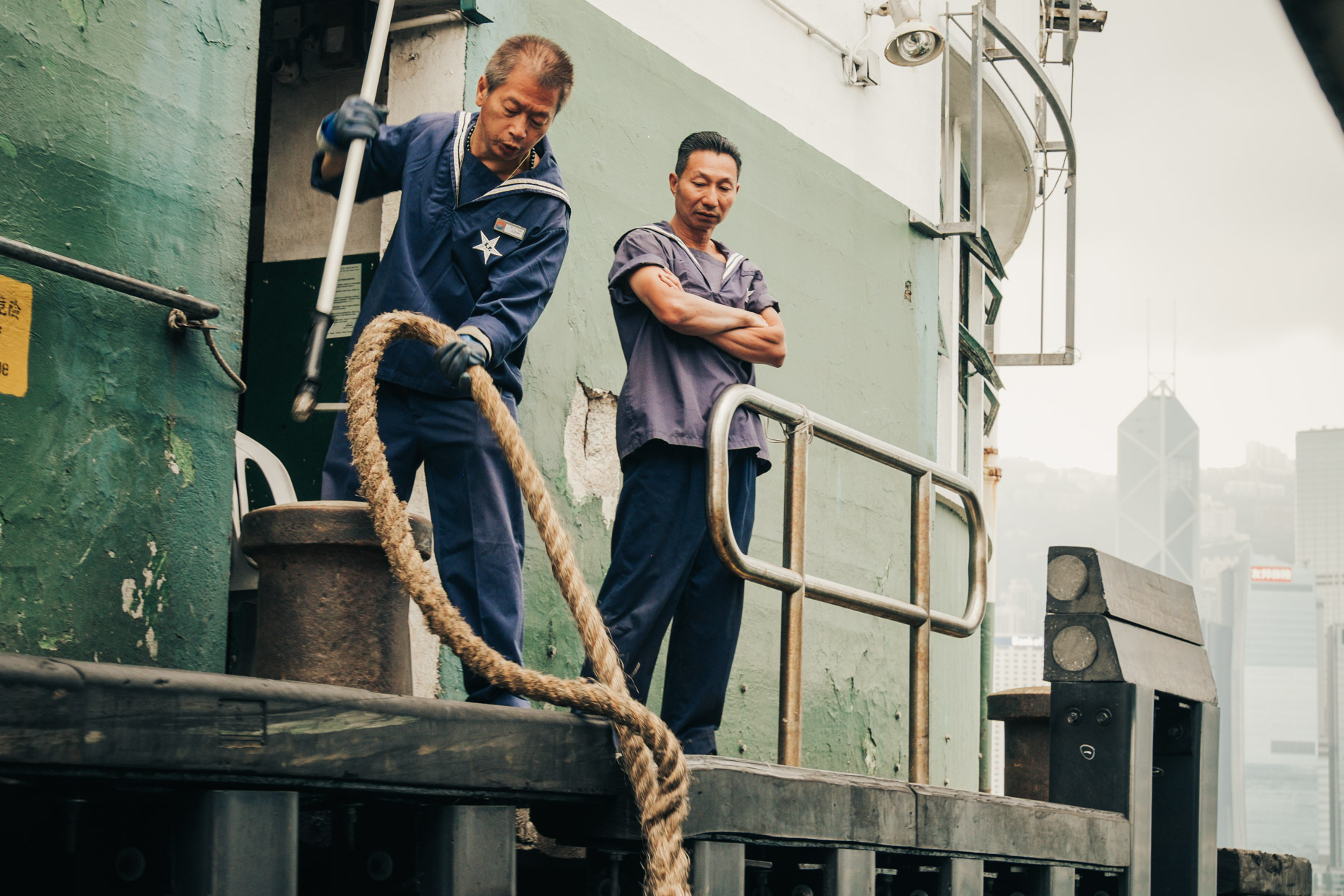 ferry workers (hong kong)
