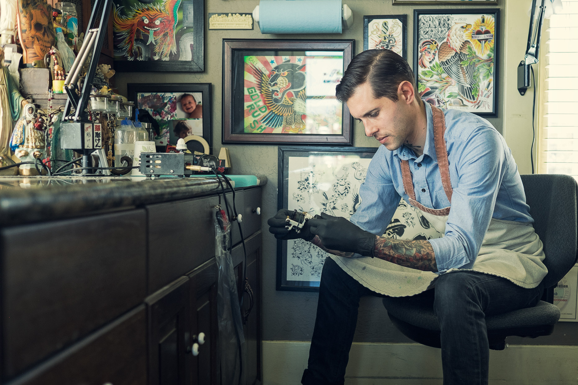 dan wysuph tattooer